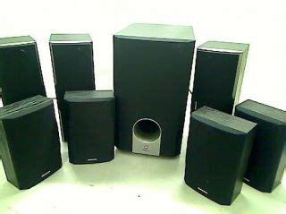 jbl cs480 5 1 channel home theater speaker system on