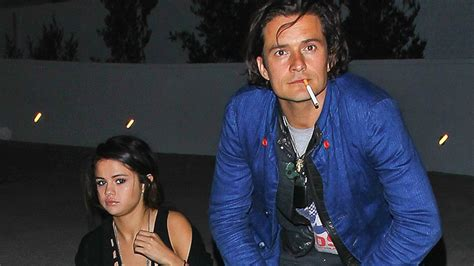orlando bloom then and now selena gomez and orlando bloom caught on video in las vegas