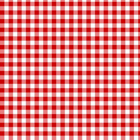 english red gingham fabric weavingmajor spoonflower