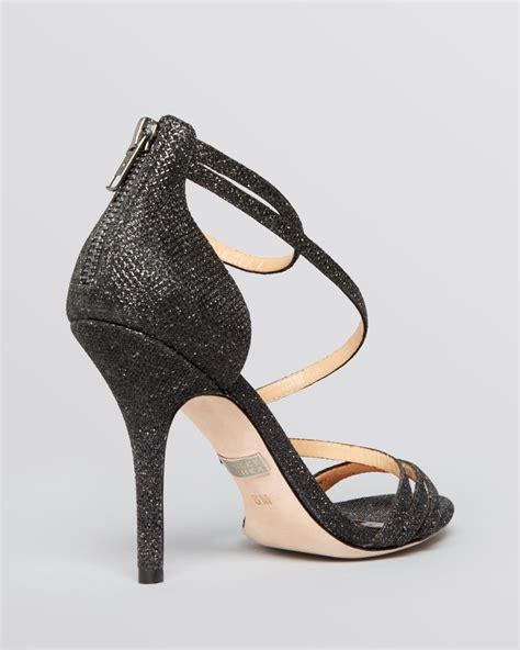 2 sandal heels badgley mischka open toe evening sandals landmark ii