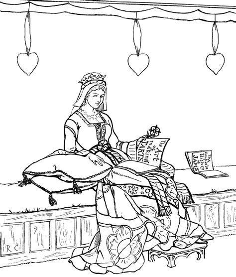 Famous Paintings Van Gogh Vermeer Flowers American Gothic Princess And The Pea Coloring Page Free Coloring Sheets
