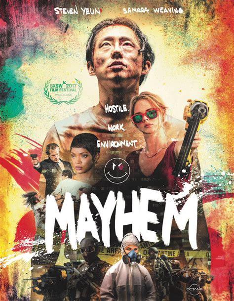 Watch Mayhem 2017 Full Movie November Release Date Revealed For Joe Lynch S Mayhem Starring Steven Yeun Samara Weaving