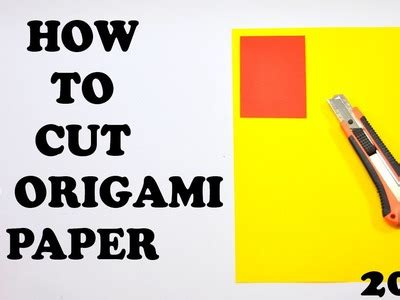 How To Cut Origami Paper - 3d origami captain america tutorial