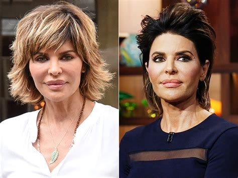 how to get rinna s haircut step by step lisa rinna changes her hairdo for the first time in 20