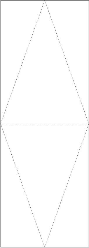 pattern for triangle box diy printable triangle box pattern craft ideas for kids