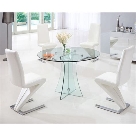 All Glass Dining Table Sofia All Glass Dining Table And 4 G612 Chairs 17475 F