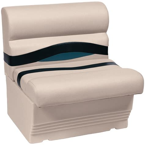 wise bench seat wise 174 premier 1100 series 27 quot pontoon bench seat 222120