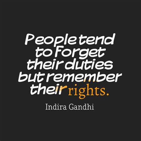 to tend picture indira gandhi quote about quotescover