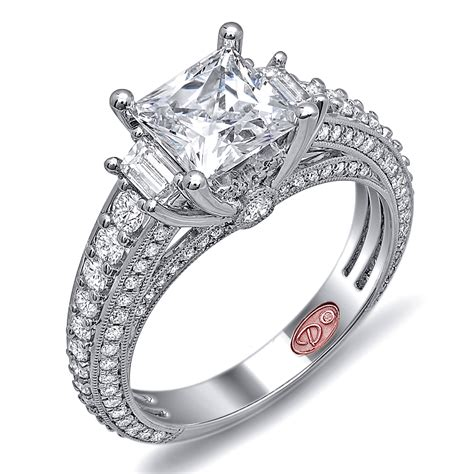 unique engagement rings dw6018