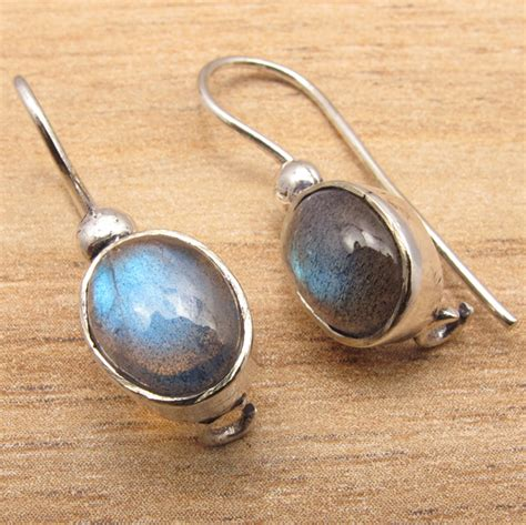 Ebay Handmade Jewelry - handmade jewelry earrings real labradorite gems 925