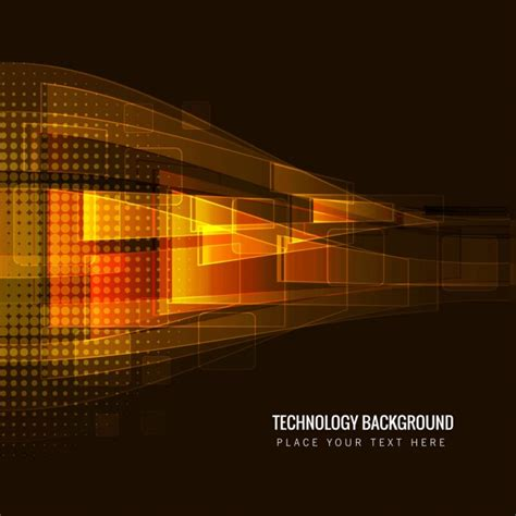 Tech Brown brown technology background vector free