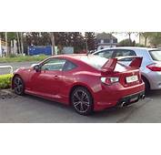 Toyota GT86 With Aero Kit In Red &amp Silver  YouTube