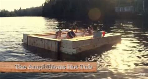 floating hot tub diy independence day floating hot tub will blow your mind