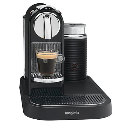 Nespresso Coffee Machine magimix m190 citiz milk nespresso machine pocket lint