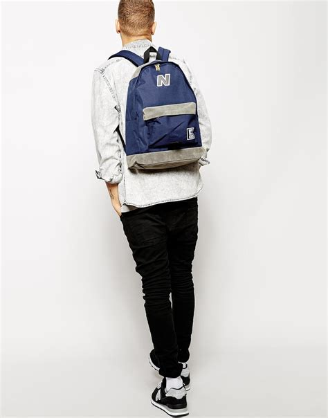Backpack New Balance Blue new balance 420 backpack in blue for lyst