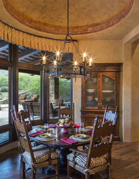 arizona tuscan southwestern dining room phoenix