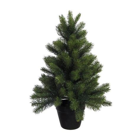 weinachbaum auf richnug premium tannenbaum mit schwarzem kunststoff topf otto