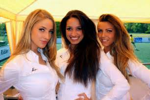Buck models at work hostesses hospitality event expo festival fair