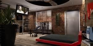 Bachelor loft interior design idea by papos design studio