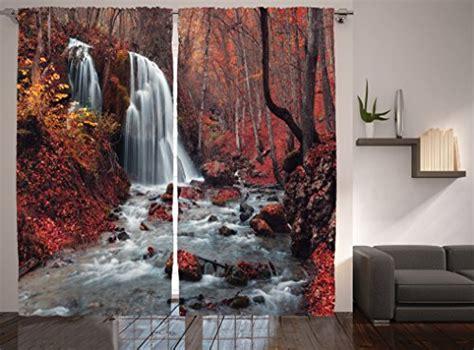 autumn kitchen curtains amazoncom