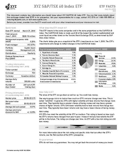 best investment prospectus template images resume ideas