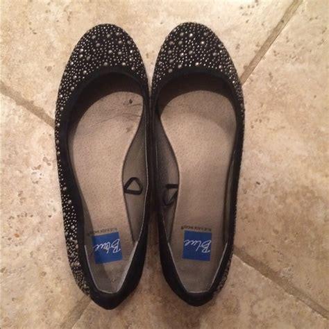 black sparkle flat shoes 63 shoes black sparkle ballet flats from erin s