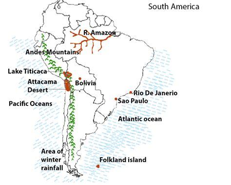 south america map desert south america kullabs