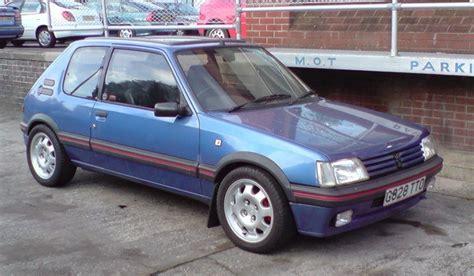 peugeot gti 1990 benselin s 1990 peugeot 205 in nottingham
