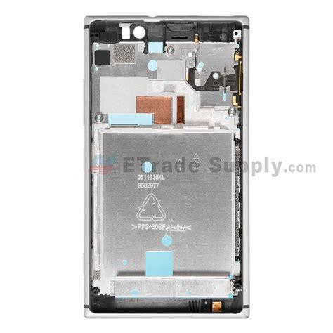 nokia lumia 925 front nokia lumia 925 front housing silver etrade supply
