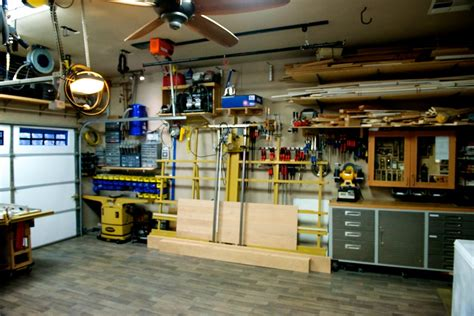 garage work shop rod s garage woodshop the wood whisperer