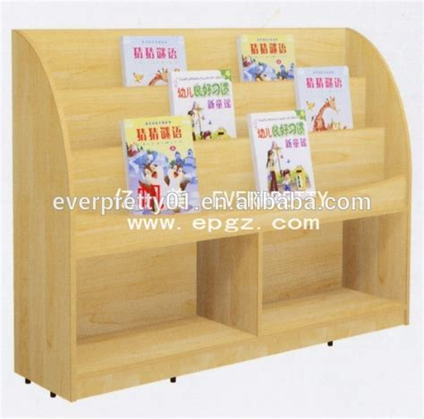 wooden library bookshelf kindergarten classroom school