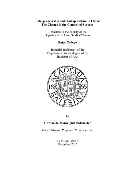 title page thesis 1 thesis title page