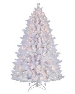 Snow white artificial pine christmas tree treetopia