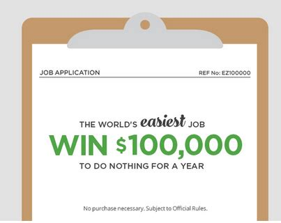 Easiest Sweepstakes To Win - groupon s world s easiest job sweepstakes win 100 000