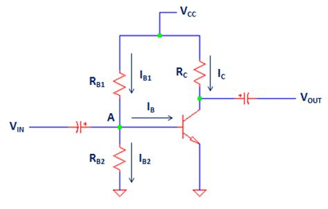 resistor in base fixed bias configuration with a divider resistor in the base complete analysis electronicsbeliever