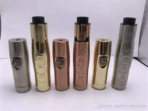 Vgod Elite Series Starterkit vgod elite series elite mech mod with vapor bag kbag vaporizer electronic cigarette e