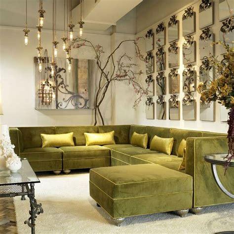 bespoke milan modular velvet corner sofa