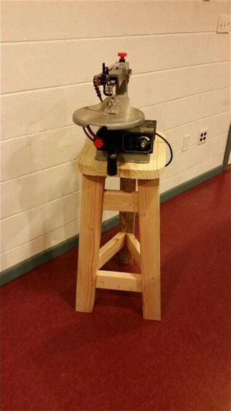 scroll saw bench plans saw stand and scroll saw on pinterest