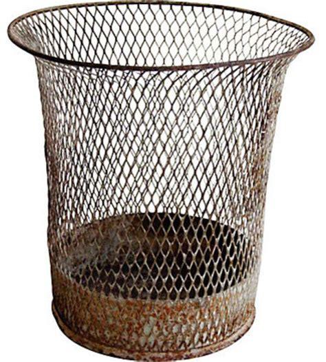 waste basket wire school house waste basket modern wastebaskets