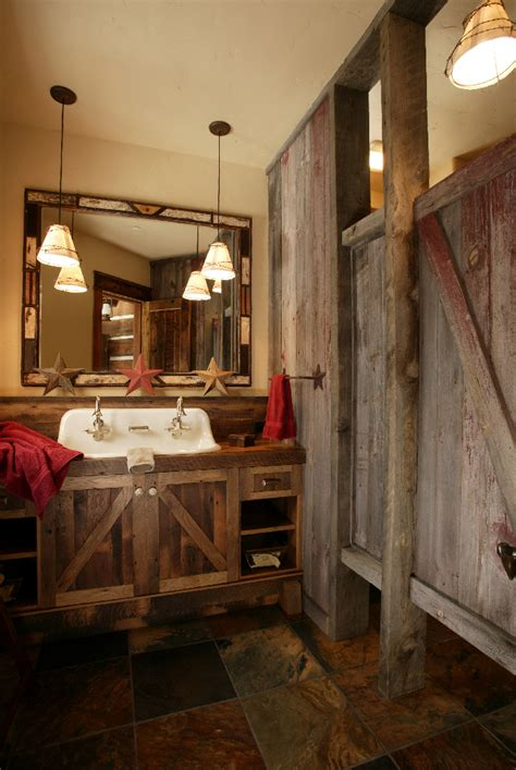 rustic bathrooms western bathroom design furniture gallery
