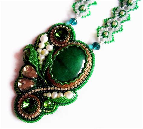 17 best images about jewelry inspiration bead embroidery