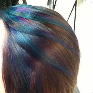 peacock hair color my peacock inspired hair color hair ideas