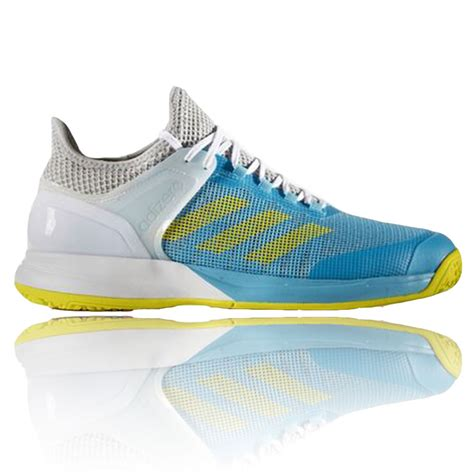 Original Adidas Adizero Court Shoes Ba9085 Sneakers Adidas Adizero Ubersonic 2 Mens White Tennis Court