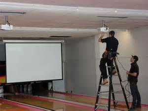 av installation projector installation cctv system