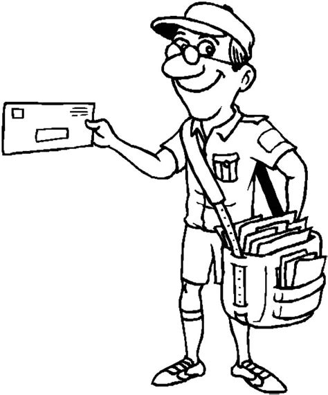 job coloring sheets coloring pages