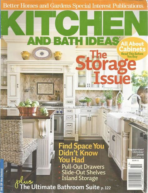 kitchen and bath ideas magazine kitchen bath ideas magazine online information