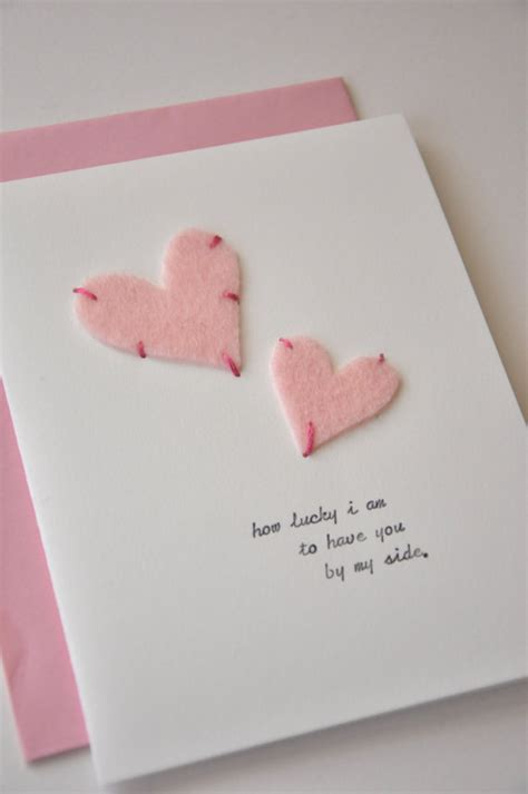 Handmade Valentines Day Card Ideas - unique valentines day card ideas family net