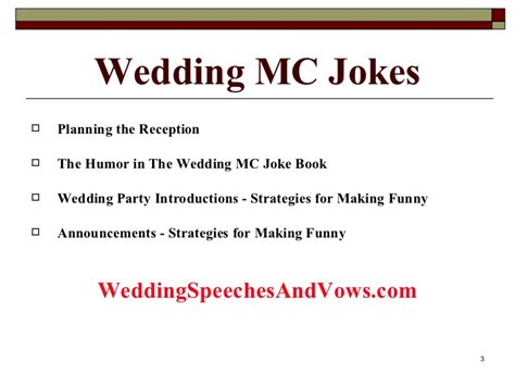printable wedding jokes wedding mc joke collection
