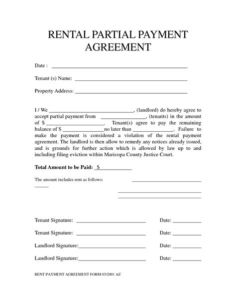 Payment Agreement Letter Between Two Template Image Gallery Monthly Payment Plan Form