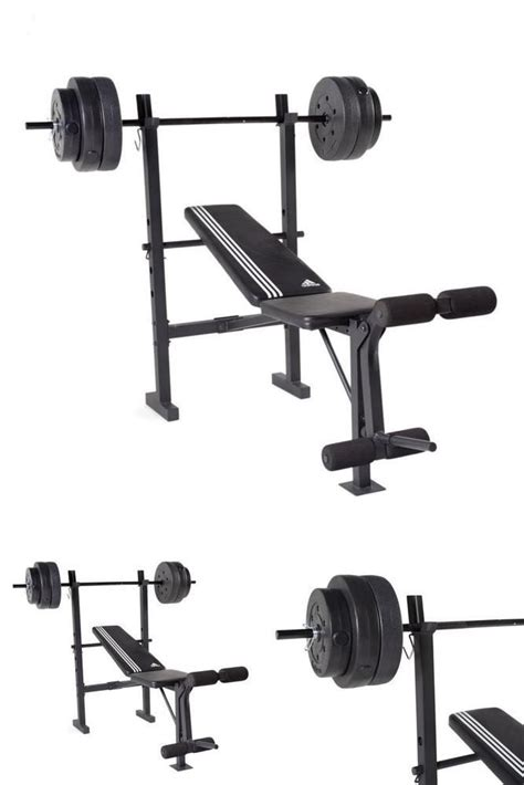folding weight bench with weight set 25 best ideas about bench press with weights on pinterest